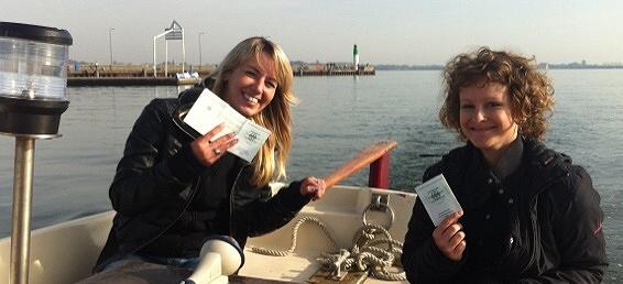 Bootsführerschein Prüfung bestanden