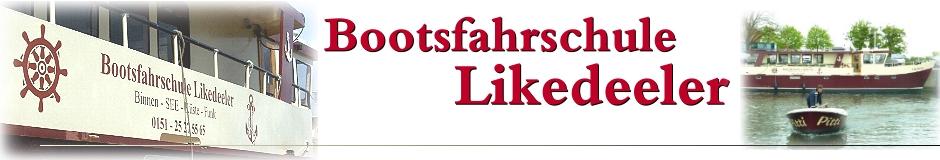 Bootsführerschein, Sportbootführerschein | Bootsfahrschule Likedeeler