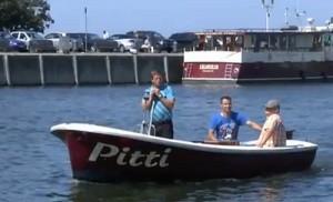 """Übungsboot Sportbootführerschein """"Pitti"""""""